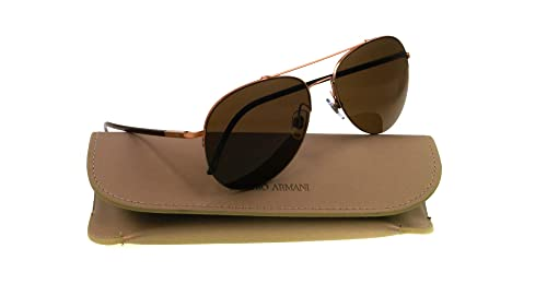 Giorgio Armani AR 6002 - 3011/73 Sunglasses BROWN 56mm