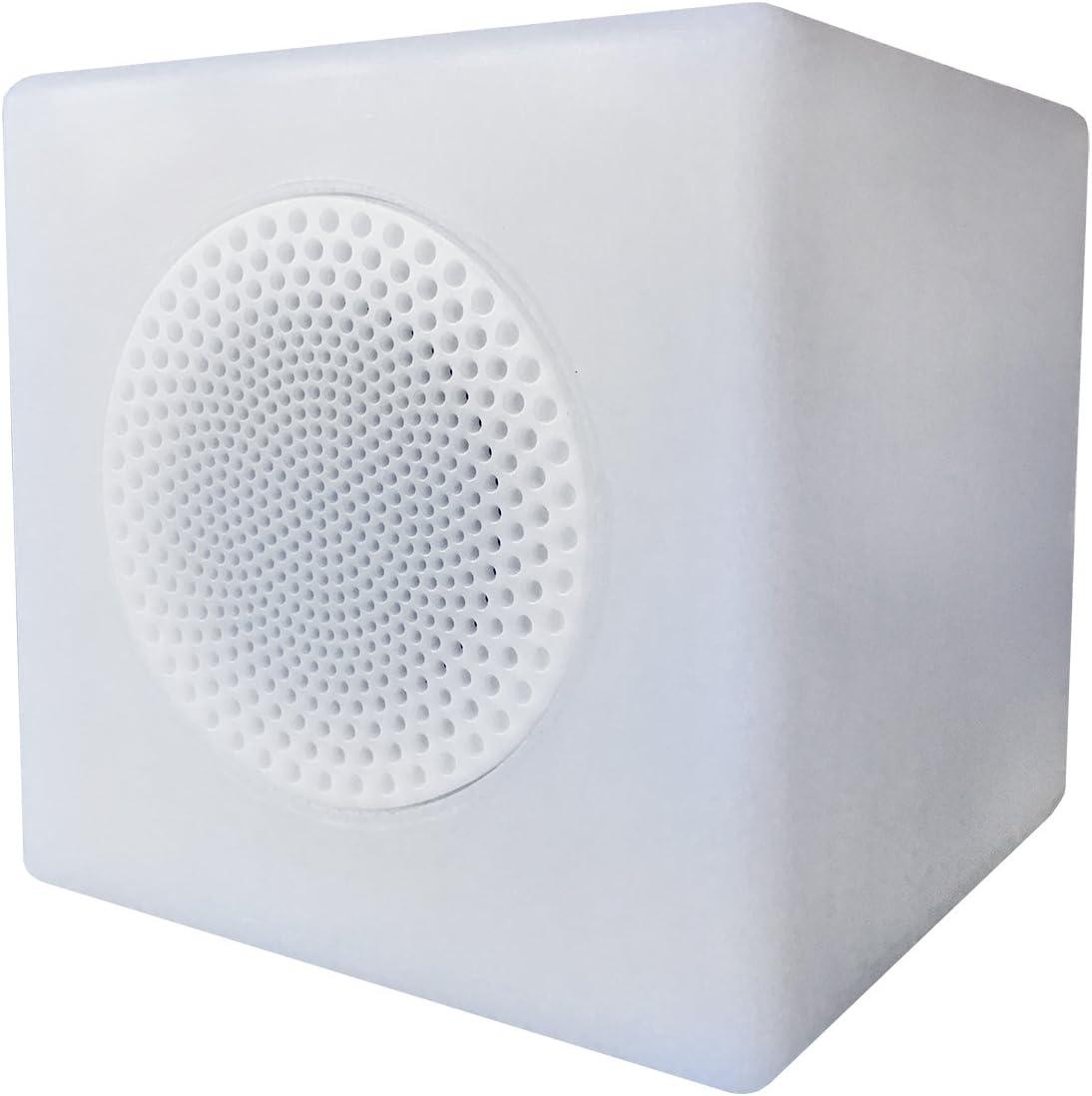 Altalum–Lámpara LED inalámbrica/Altavoz Bluetooth (Cube Small)