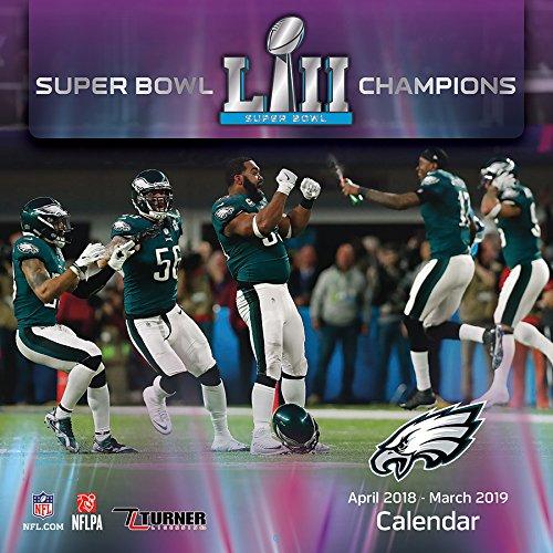 Philadelphia Eagles Super Bowl LII Champions Wall Calendar (Super Bowl 2019 Best Moments)