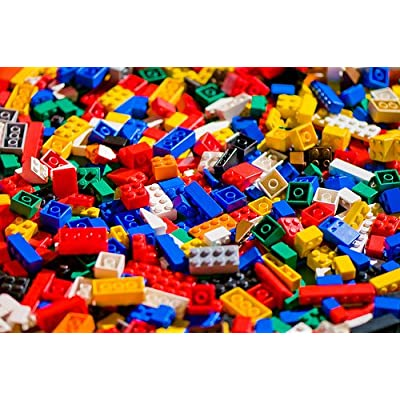 500 Random Lego Pieces Washed Sanitized and Sorted from big lots: Toys & Games