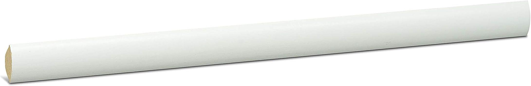 2.5m Viertelstab PVC 13x13mm Winkelprofil EICHE Abdeckleisten Profil Wand Leiste