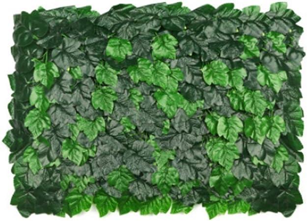 YNFNGXU Setos Artificiales Planta Verde Colgante De Pared Interior Césped Puerta Jardín Decoración De Pared Al Aire Libre (Color : C): Amazon.es: Hogar