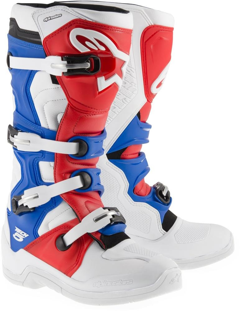 UK 9 Alpinestars Motocross Boots Tech 5 Size 43 EU