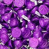 Hersheys Kisses Dark Chocolate Purple Wrapping 2 Pounds