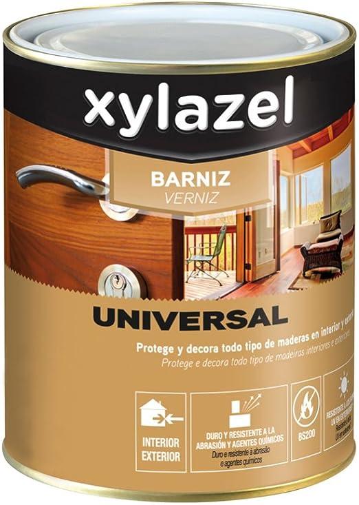 BARNIZ UNIVERSAL SATINADO WENGUE 750 ML: Amazon ...