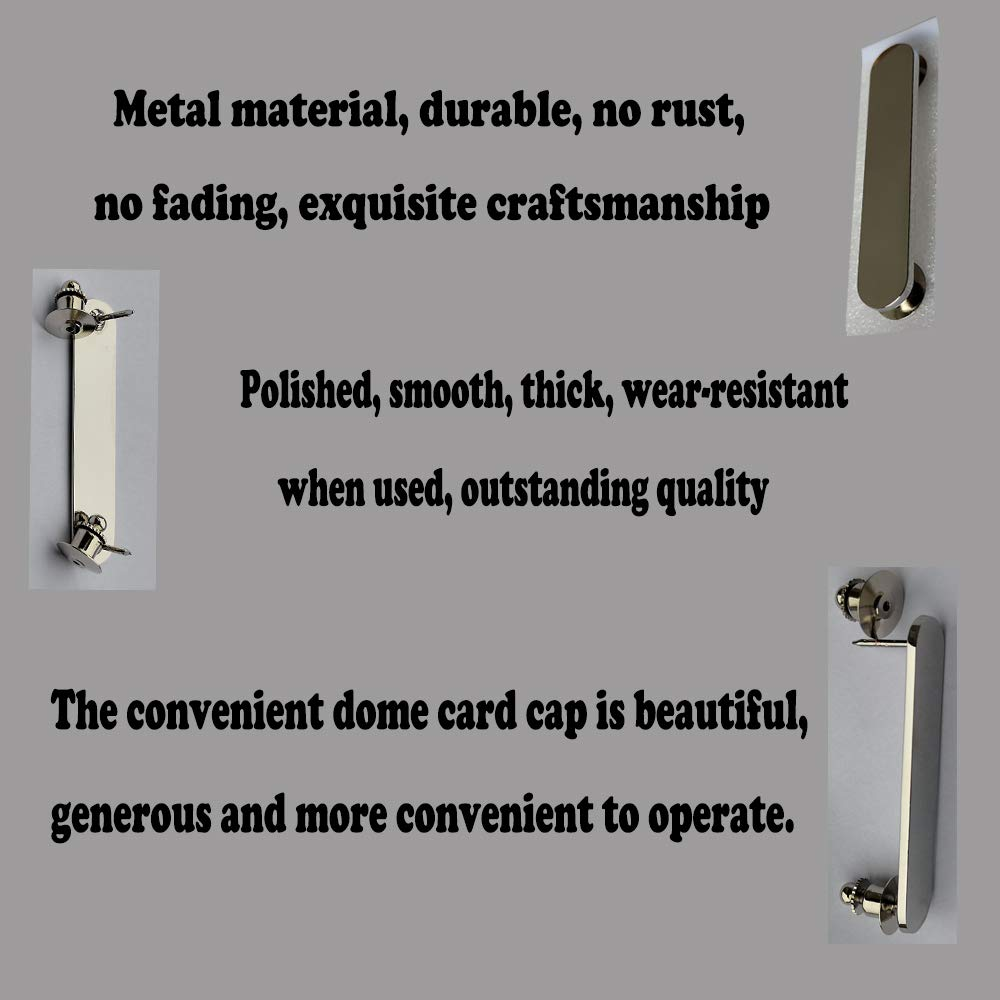 Pins for Hanging Instruments on Overalls 1.97.0.39 Electroplated Silver