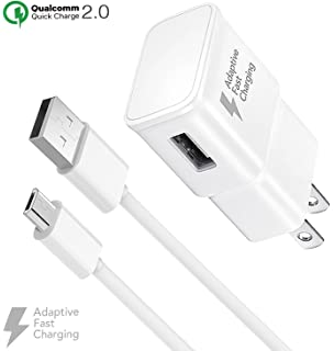 Amazon.com: Truwire Adaptive Fast Charger Set for Samsung ...
