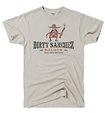 df2e58da5 Amazon.com: DirtyRagz Men's Dirty Sanchez Saloon T Shirt: Clothing