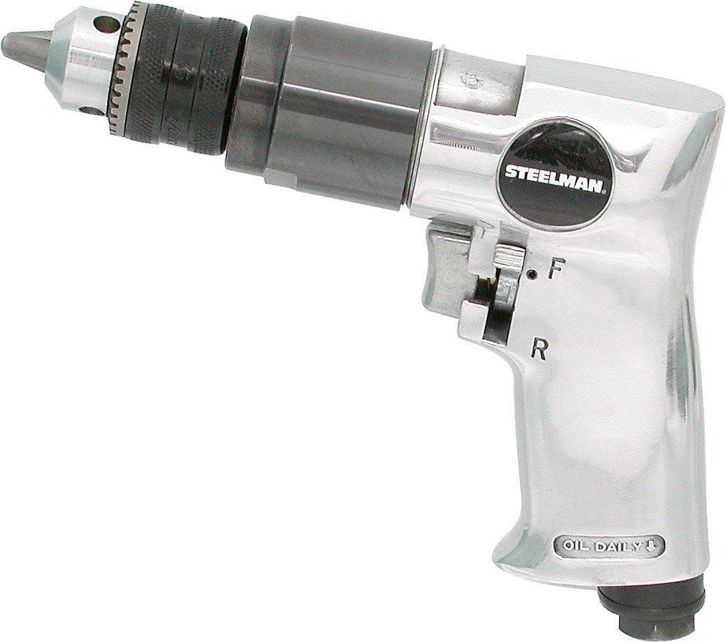 Steelman 1705 3/8-Inch Reversible Air Drill