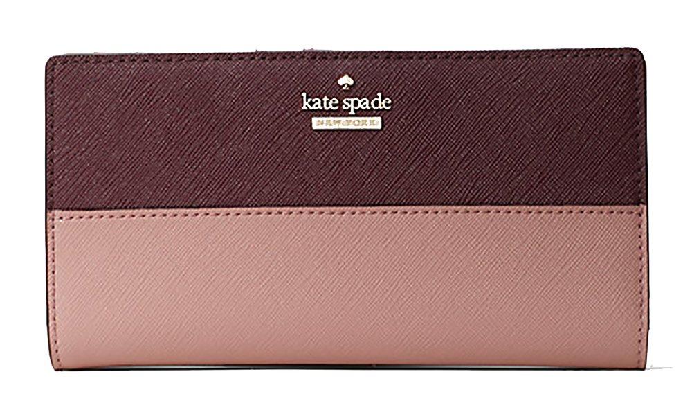 Kate Spade new York Cameron Street Stacy Wallet (Dusty Peony Multi)