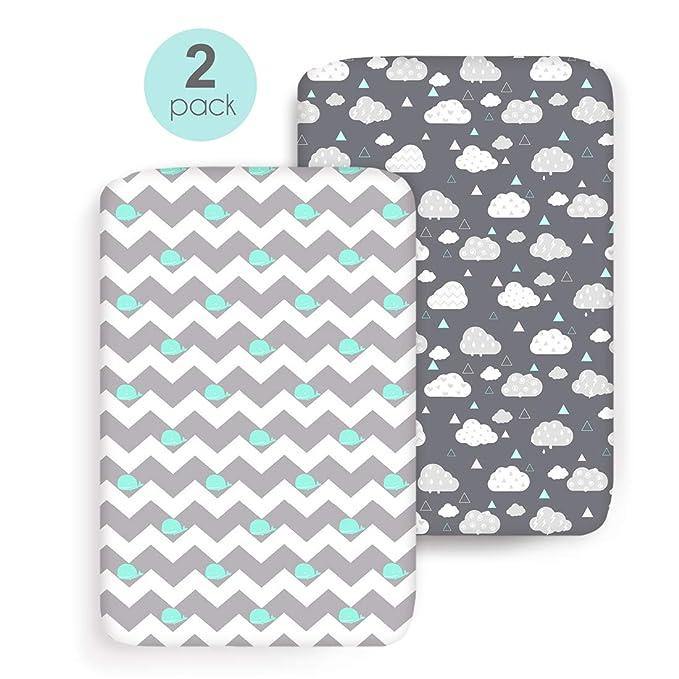 Amazon.com: Fundas de almohada elásticas para lactancia, 2 ...