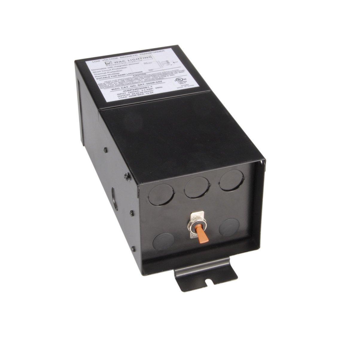 WAC Lighting SRT-300M-24V Remote Magnetic Transformer, 12V by WAC Lighting