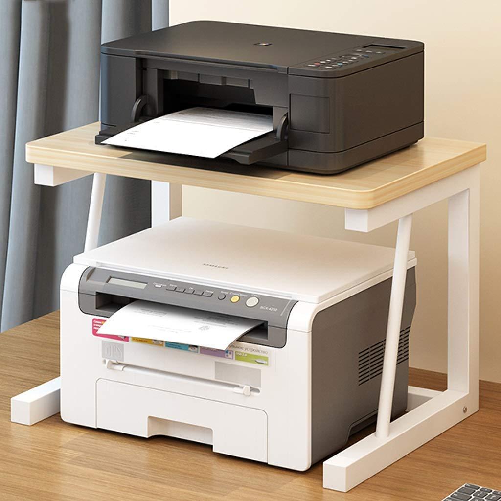 WJSW Impresora Soportes de Escritorio Estante de Impresora ...