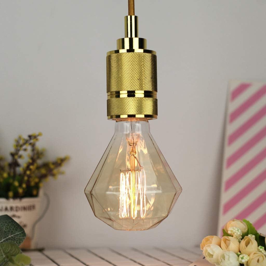 Edison Light Bulb Vintage Light ST64 T30 Tungsten Light Antique Light E27 40W Bar Restaurant