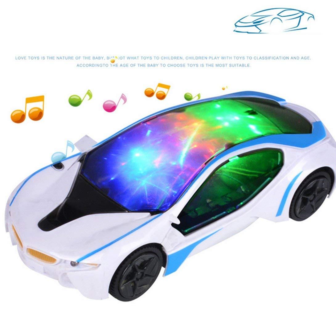Swiftswan Universal LED Licht Musik elektrische Blinkende Autos Kinder Kinder Auto Spielzeug Geschenk