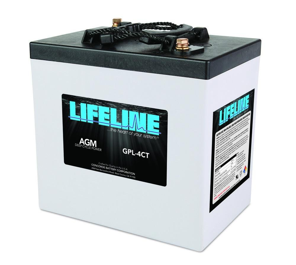 Lifeline AGM Marine Battery (GPL-4CT)