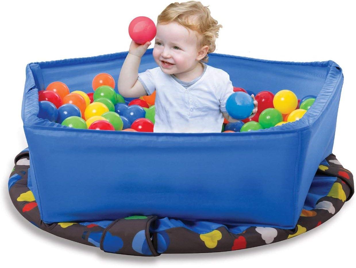 smarTrike- Cama elástica Infantil 3 en 1, Color Azul (9200000)