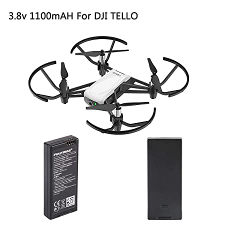 FancyWhoop 2pcs Tello batería 1100mAh 1S 3.8V Battery por dji ...