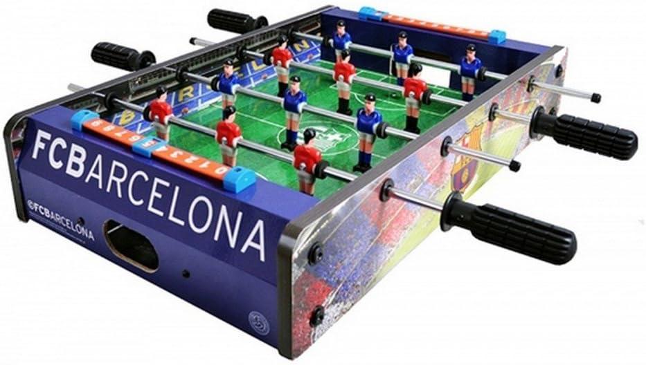 FC Barcelona - Futbolín (Talla Única) (Rojo/Azul): Amazon.es: Bebé