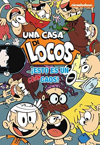 ¡Esto es un gran caos! (Una casa de locos. Cómic) por Nickelodeon