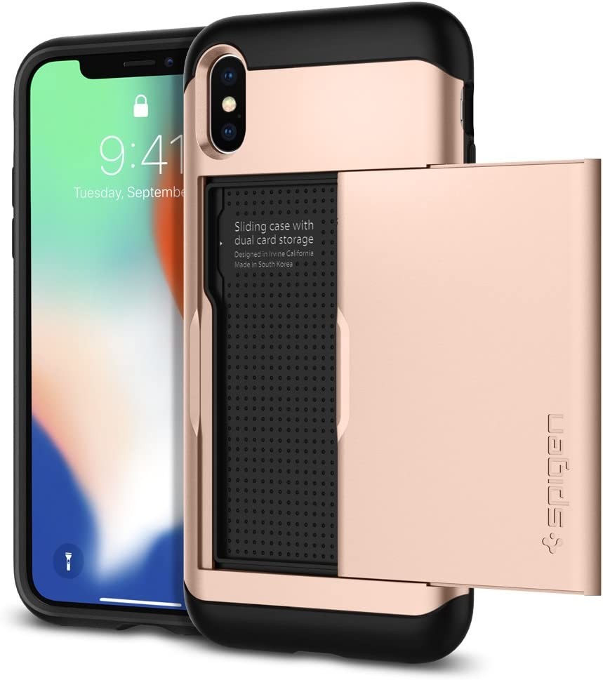 Spigen 057cs22157 Slim Armor Cs Kompatibel Mit Iphone Elektronik