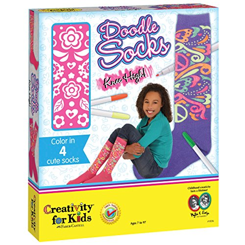 Creativity for Kids - Knee High Doodle Sock