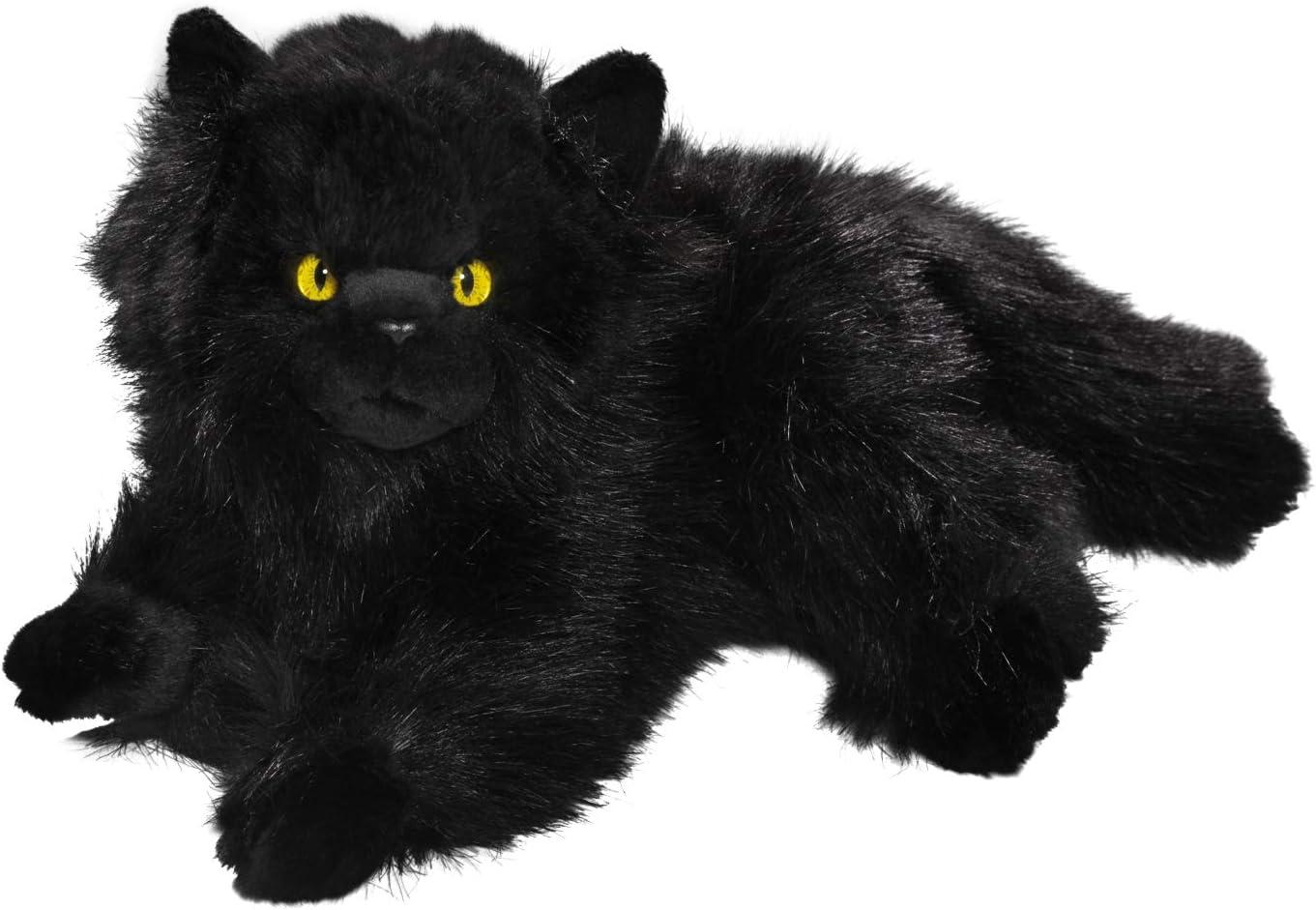 Carl Dick Peluche - Gato Persa Negro (Felpa, 30cm) [Juguete] 3474