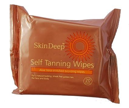 Skin Deep - Toallitas autobronceadoras (20 toallitas)