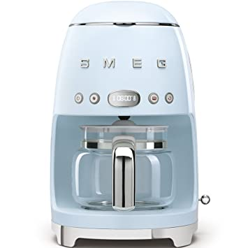 Smeg DCF01PBEU - Cafetera (Independiente, Máquina espresso, 1,4 L, 1050