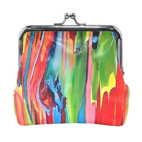 Amazon.com: Monedero de pintura para mujer, cartera de ...
