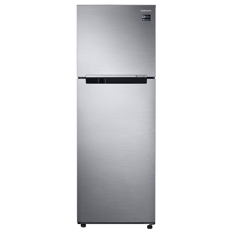 Samsung RT32K5030S8 Independiente 321L A+ Acero inoxidable nevera y congelador - Frigorífico (321 L, SN-T, 4 kg/24h, A+, Compartimiento de zona fresca, ...