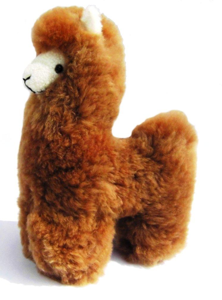 Alpacaandmore Lama Figur Kuscheltier Alpakapelz 30 cm Handgemacht in Peru B015YBIB5A Plüschtiere Offizielle Webseite | Genial