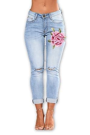 Maxi Yes Pantalones Jeans Vaqueros Nueva Moda 2018 Ropa de Mujer Colombianos Levanta Cola (S