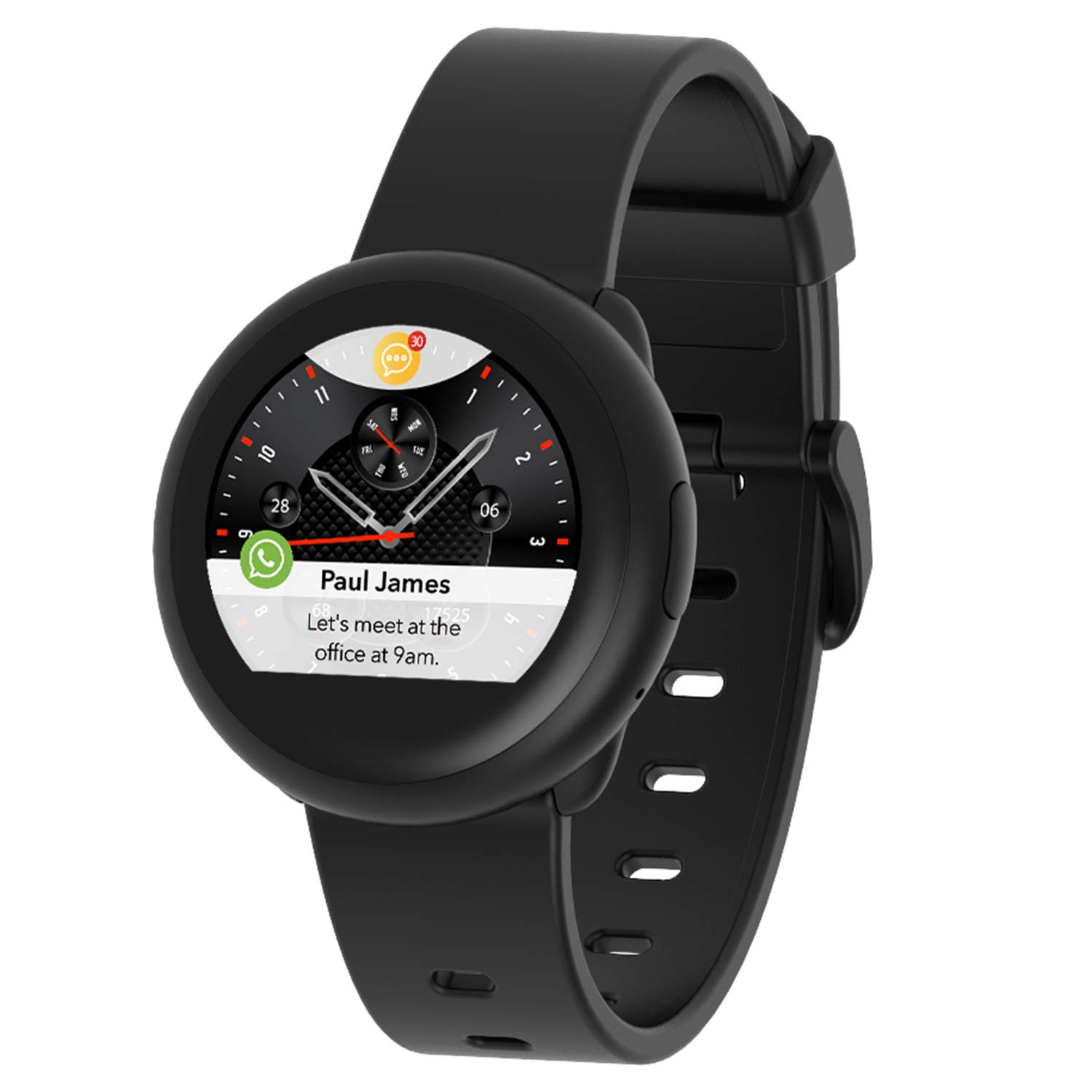Amazon.com: MYKRONOZ ZeRound3 Lite Smartwatch with Heart ...