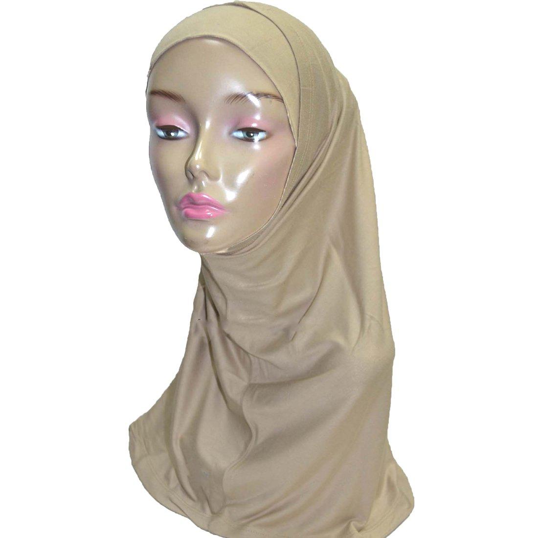 Hayaa Clothing 2 Piece Amira Hijab Light Weight Viscose (Beige)