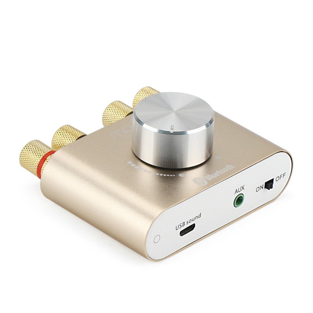 Oro DollaTek TPA3110 30 W 2 2 canali Mini Stereo Wireless Bluetooth Audio Amplificatore di Segnale Digitale Amplificatore di Potenza per Tablet PC Portatili Smartphone ect