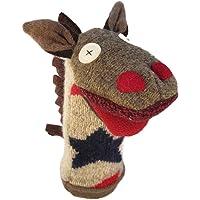 Cate & Levi - Hand Puppet - Premium Reclaimed Wool - Handmade in Canada - Machine Washable (Horse)