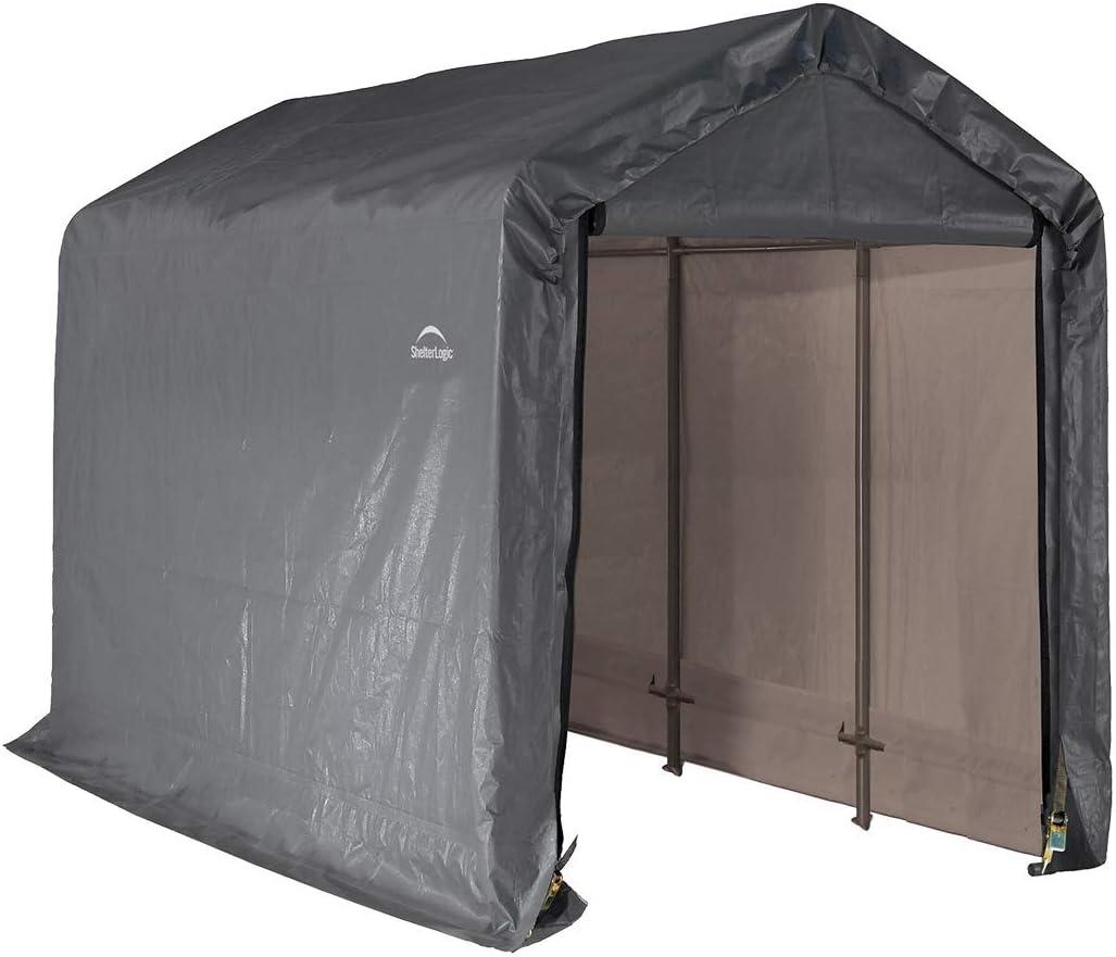 Amazon Com Shelterlogic Replacement Cover Kit 6x12x8 Peak Gray 90502 7 5oz Gray Garden Outdoor