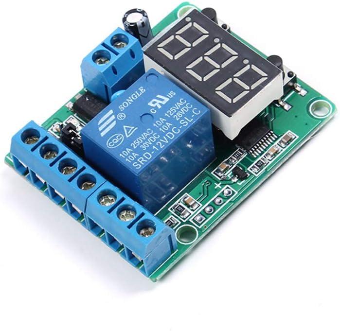 Interruptor de Control de relé Protección de sobretensión y Baja tensión Dispositivo de protección Relé Carga de la batería Tiempo de Descarga