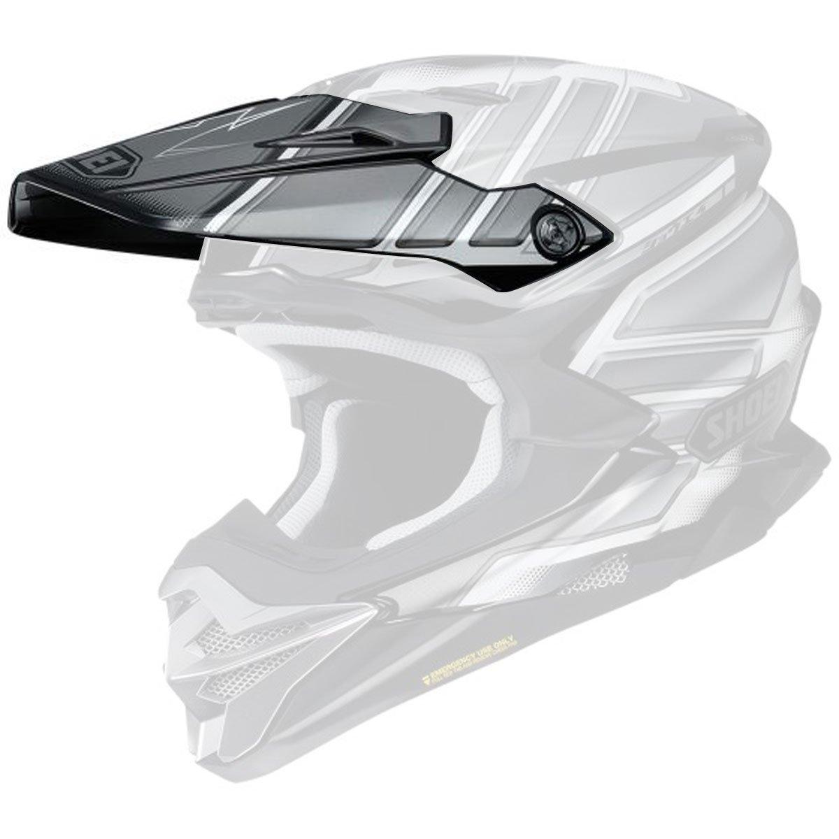 Shoei VFX-Evo Visor Glaive Off-Road Motorcycle Helmet Accessories - TC-5 / One Size