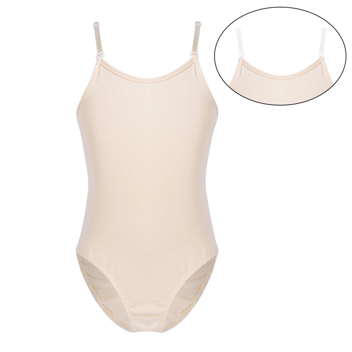 iEFiEL Girls Little Ballerina Dancer Balletドレススカートレオタードジムダンス用 B07FQQQ8L7 10-12 肌色 肌色 43750