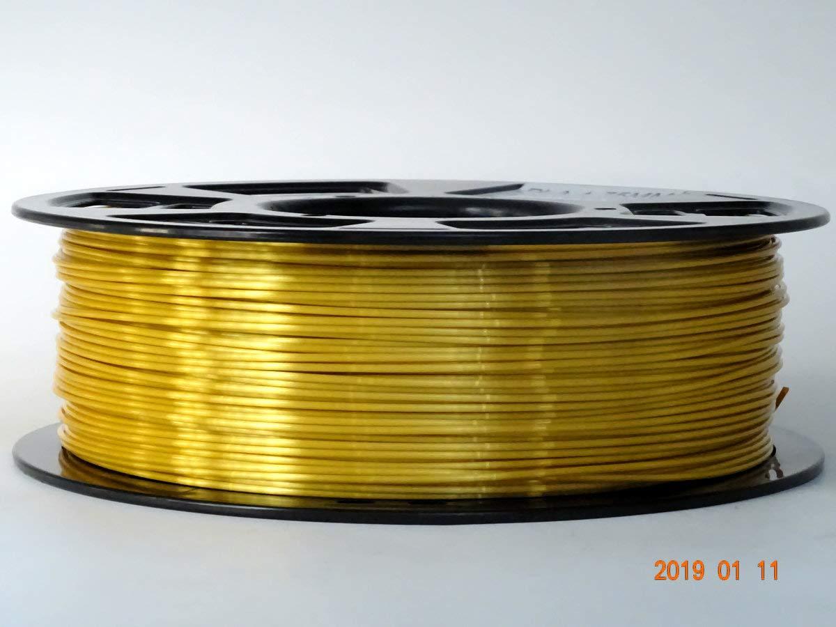2.2 LBS Spool Accuracy+//-0.05mm Stronghero3D Silk Gold 3D Printer PLA Filament1.75 mm 1 KG