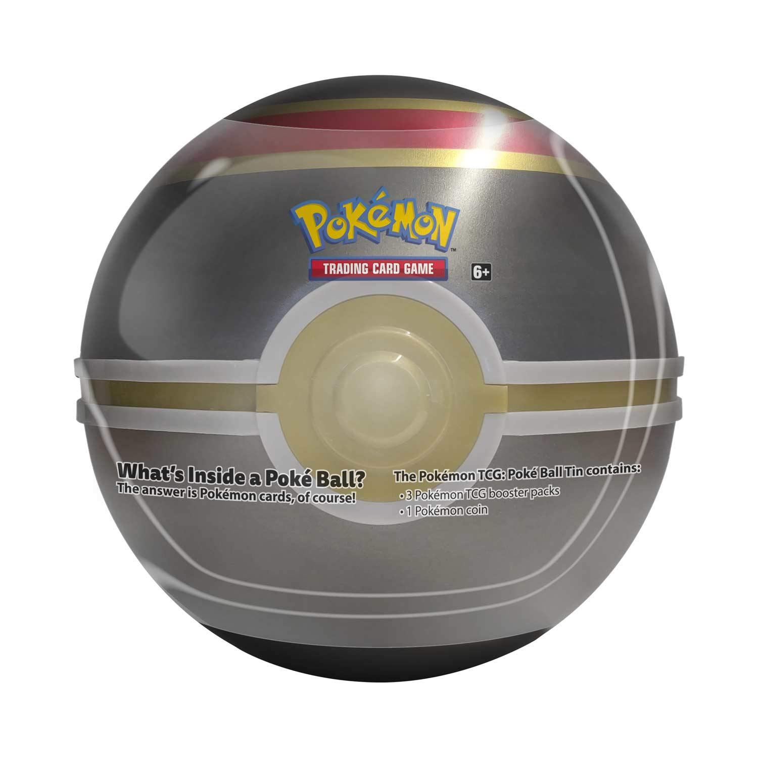 Pokemon TCG: Sun & Moon Luxury Ball Tin - 4 Booster Pack with 1 Coin