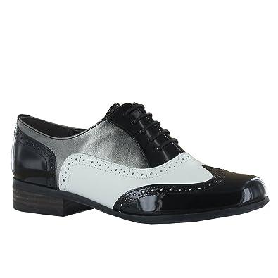 Woments Size 41 Hamble Shoes Eu Clarks White Oak Black shQCdtxr