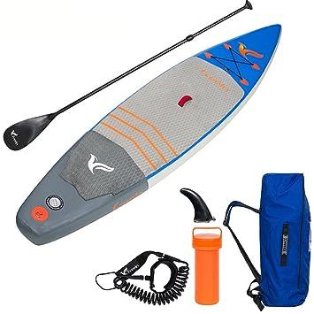 Tabla De Paddle Surf Para Principiantes (6 Cm De Espesor) Alu Sup Paddle Telescópica