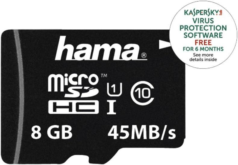 Adapter Hama/microSDHC 8GB Class 10