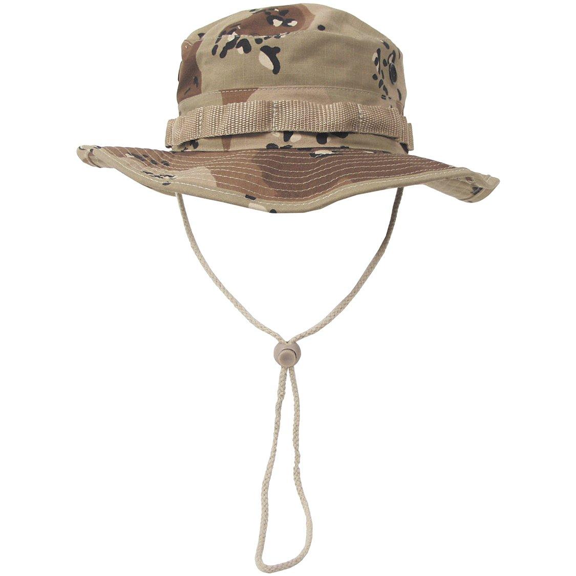Gi Ripstop Boonie Bush Hat 6-Colour Desert Camo