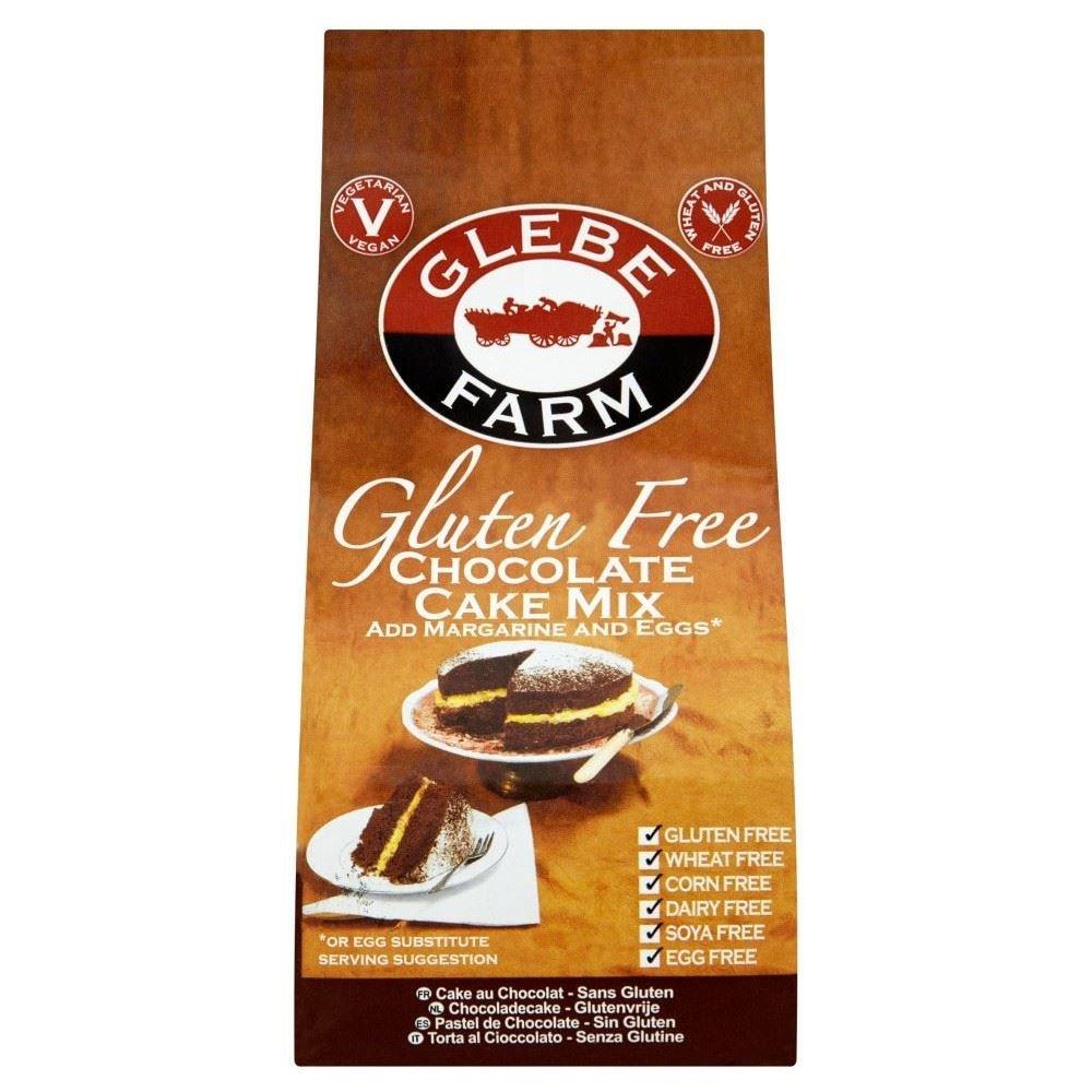 Glebe Farm Gluten Free Cake Mix Chocolate (300g) - Pack of 2