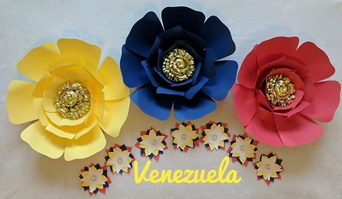 Amazon paper flowers venezuela backdrops includes 3 big paper paper flowers venezuela backdrops includes 3 big paper flowers and 7 small paper flowers mightylinksfo