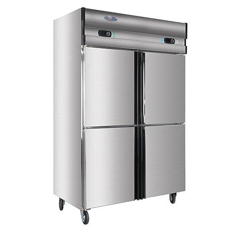 Amazon.com: 1000L Dual Compressor 4-Door Restaurant Kitchen ...